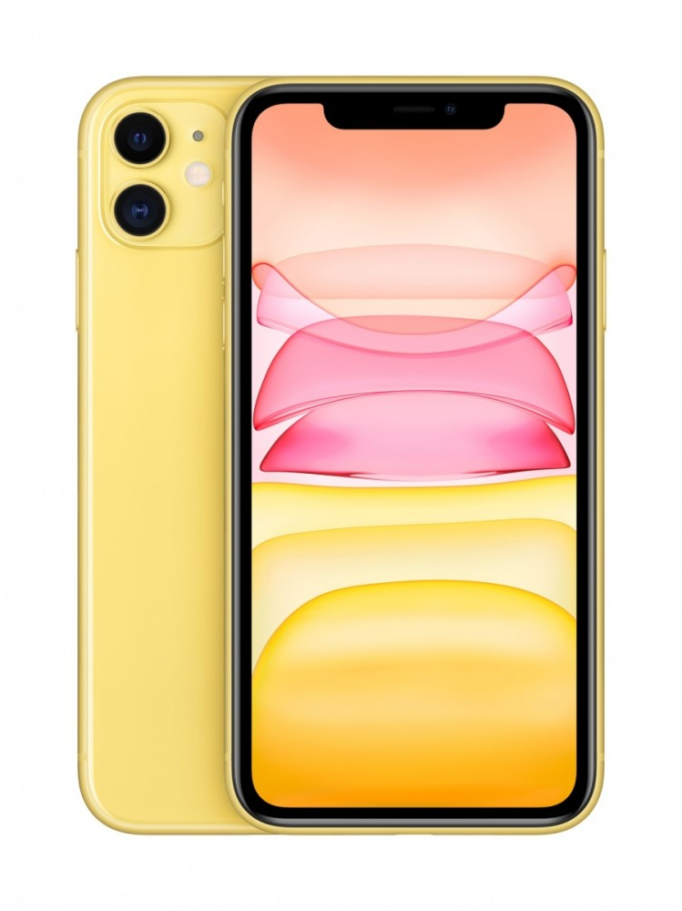 IPHONE 11 YELLOW 256GB MHDT3PM/A Mobilais Telefons