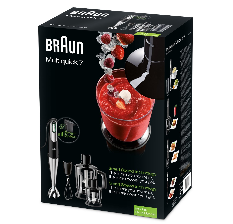 Braun MQ 745 Aperetif black Blenderis