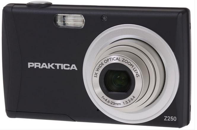 Digital camera PRAKTICA  luxmedia Z250 black Digitālā kamera