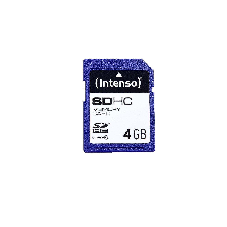 Intenso SDHC-Card 4GB, Class 10 atmiņas karte