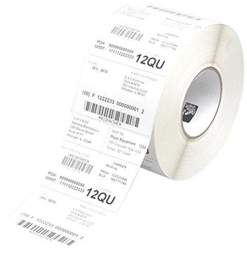 Zebra Label roll, 38x25mm normal paper, 12 rolls/box uzlīmju printeris