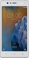 Nokia 3 - 5.0 - 16GB - Android - silver/white Mobilais Telefons