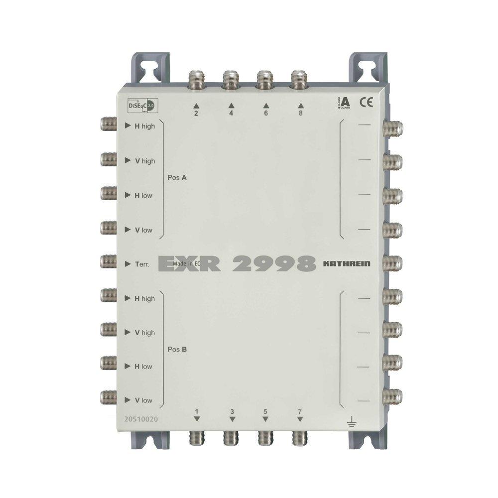Kathrein EXR 2998 Multischalter Kaskade Erweiterung