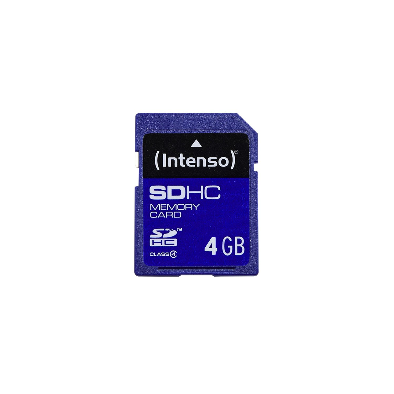 Intenso 3401450 memory card 4 GB SDHC Class 4 atmiņas karte