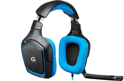 Logitech G430 Surround Sound Gaming Headset austiņas