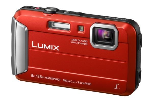 Panasonic Lumix DMC-FT30 red Digitālā kamera