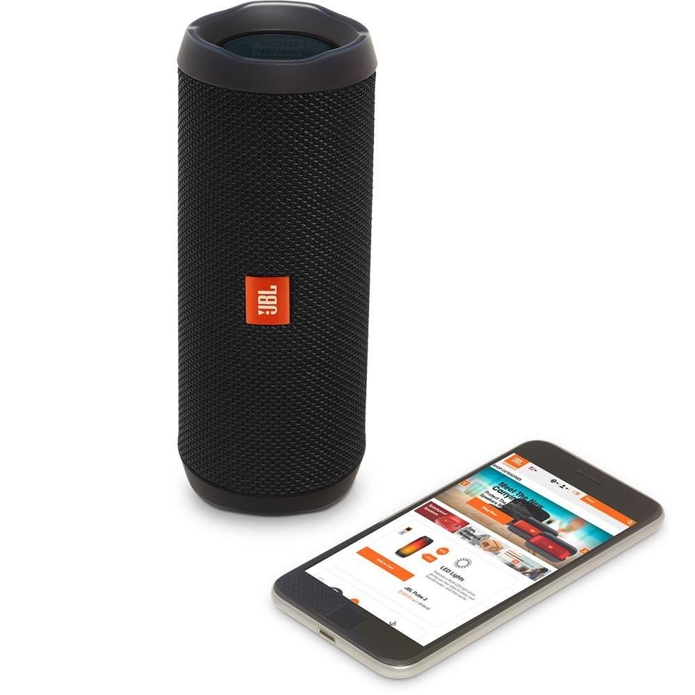 JBL FLIP 4 Bluetooth Black pārnēsājamais skaļrunis