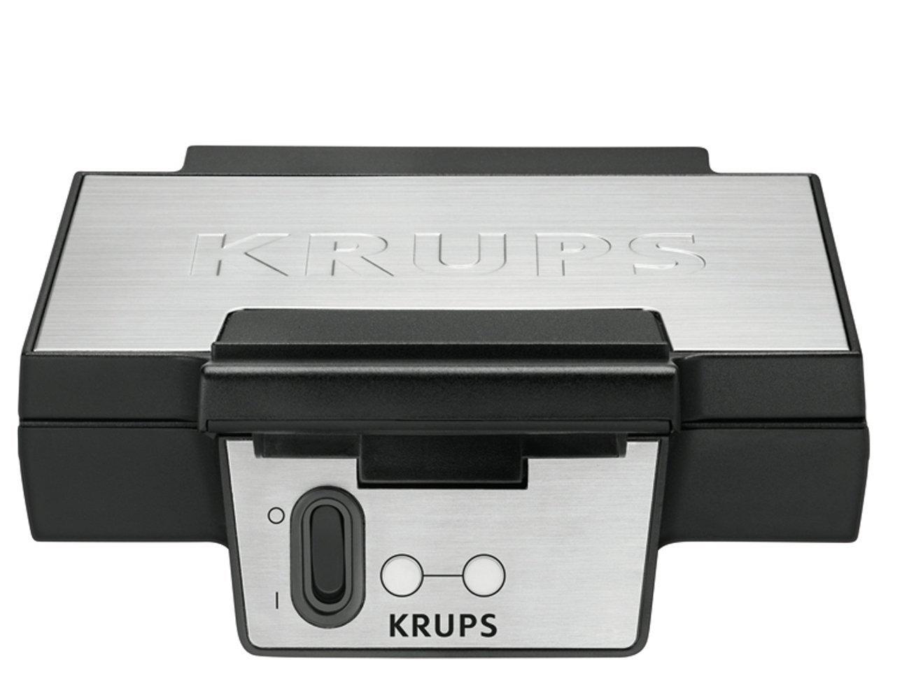 Krups FDK251 Waffelautomat silver/black vafeļu panna