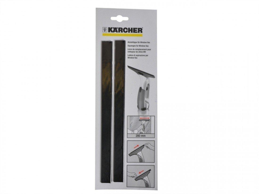 Karcher 2.633-005.0 Abziehlippe breit far WV Fensterreiniger 2er Pack tīrīšanas līdzeklis
