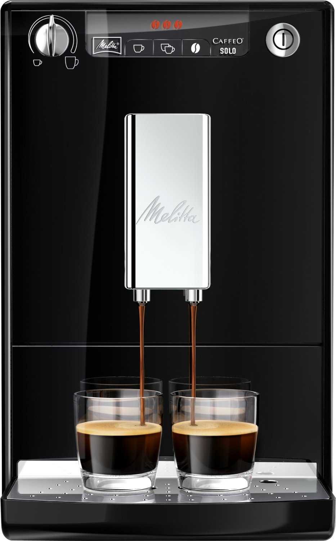 Melitta Coffe Maker Caffeo Solo black Kafijas automāts