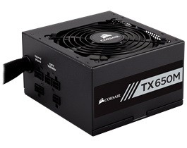 CORSAIR Builder TX650 650W PSU Barošanas bloks, PSU