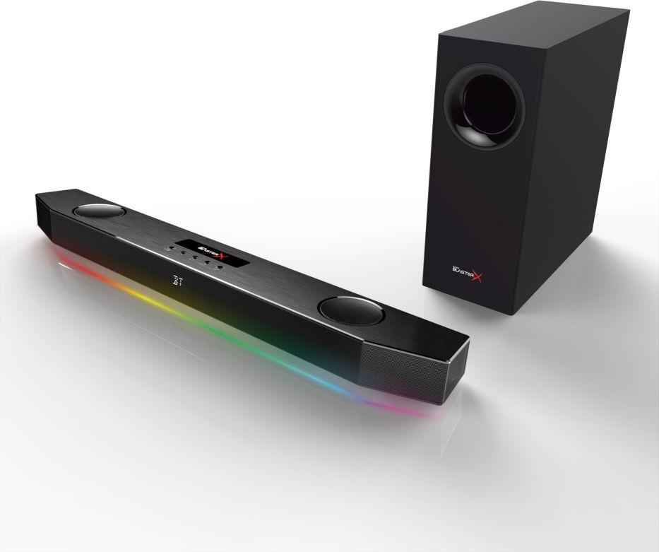 Creative Sound BlasterX Katana Soundbar - black mājas kinozāle