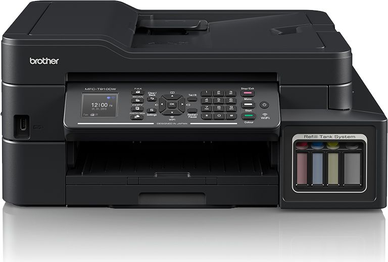 Brother Multifunction Printer 4-in-1 MFCT910DW Colour, Inkjet, A4, Wi-Fi, Black printeris