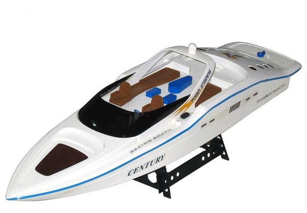 Motorboat Double Horse 7004 1:12 RTR - White DH/7004