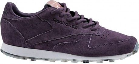 Reebok Buty damskie Classic Leather Shimmer fioletowe r. 36 (BD1520) BD1520