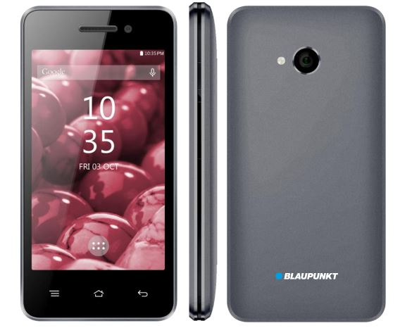 Blaupunkt SF 01 gray ENG/RUS BPSF01GLGR Mobilais Telefons