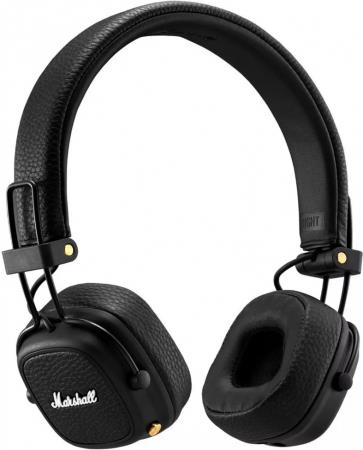 Marshall Major III Bluetooth Black austiņas
