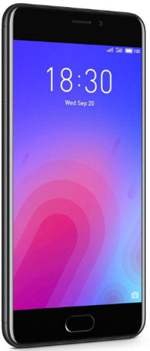 Meizu M6 3GB/32GB Black Mobilais Telefons