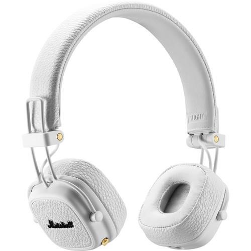Marshall Major III Bluetooth White austiņas