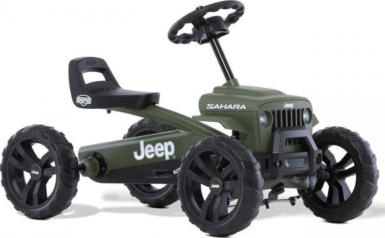 Berg Berg Pedal Gokart Buzzy Jeep Sahara Silent wheels 2-5 years up to 30 kg