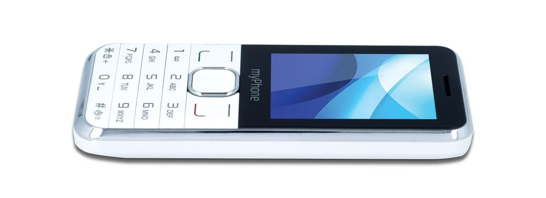 MyPhone Classic+ 3G Dual white Mobilais Telefons