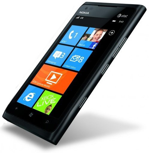 Nokia 900 Lumia black Windows Phone Used (grade:C) 9902941029151 T-MLX11145 Mobilais Telefons