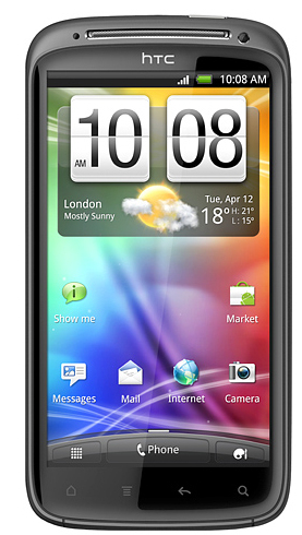 HTC Z710 Sensation black Used (grade:C) 9902941029328 T-MLX11027 Mobilais Telefons