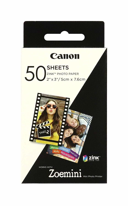 Canon ZP-2030 ZINK Paper 5 x 7,5 cm (50 sheet) printeris