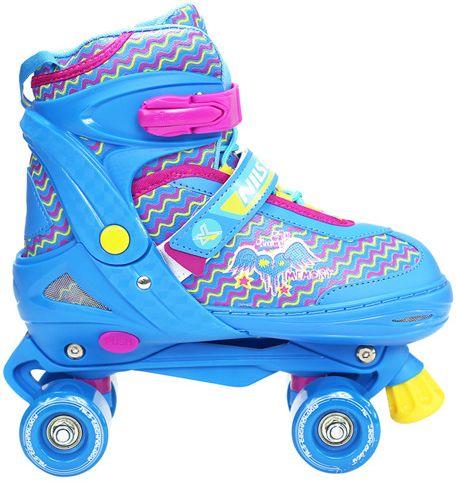 NILS Extreme Roller Skates NQ4411 blue r. L (38-41) (16-53-616) Skrituļslidas