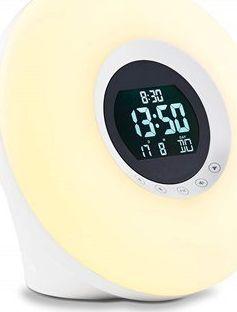 ADE Alarm Clock with Radio  Wake-up Light CK 1718  Led Light 4260336178347 Lampas projektoriem