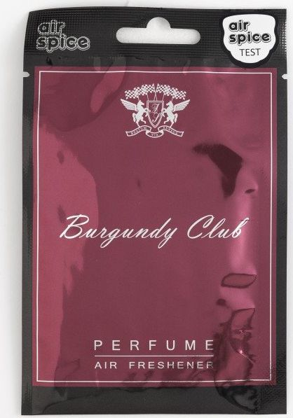 Air Spice CLUB - Burgundy auto kopšanai