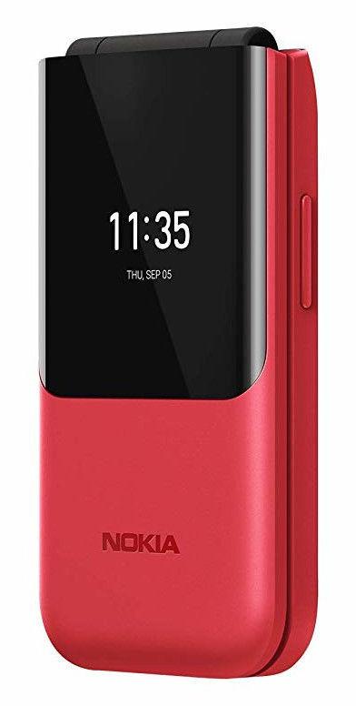 Nokia 2720 Flip Red Mobilais Telefons