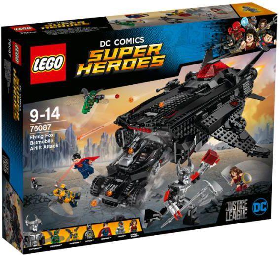 Lego SUPER HEROES Atak powietrzny Batmobila (LG76087) konstruktors