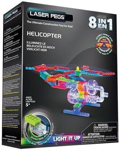 LASER PEGS 8 in 1 Helicopter  (G1270B) konstruktors