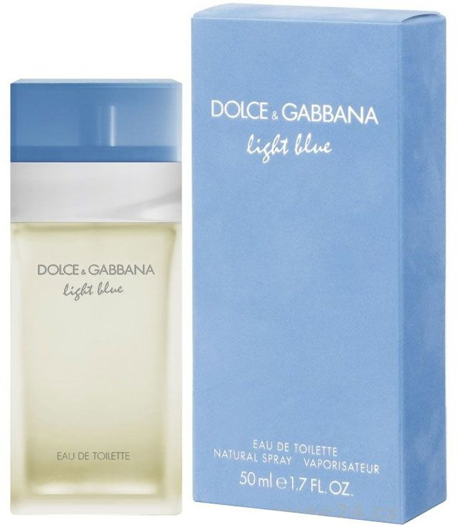 Dolce & Gabbana Light Blue EDT 50ml Smaržas sievietēm