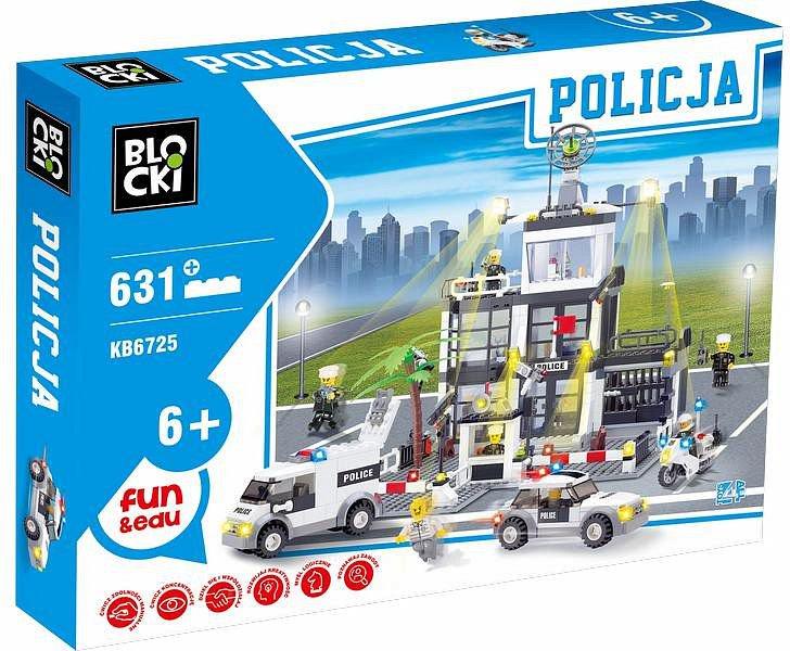 ICOM Blocki Policja - Komisariat 631el. (KB6725) konstruktors