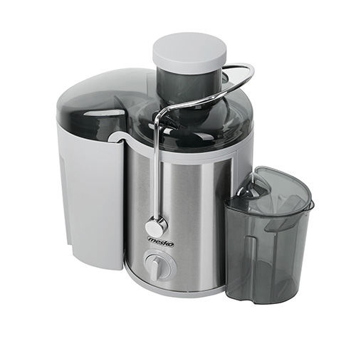 Mesko Juicer MS 4126 Type Automatic juicer, Stainless steel, 600 W, Extra large fruit input, Number of speeds 3 5902934831895 Sulu spiede