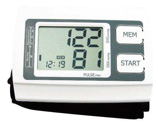 Platinet PBPMKD558 Asins Spiediena Mērītājs / Automātisks / Sirds Pulsa Monitors LCD Displeju / Balts asinsspiediena mērītājs