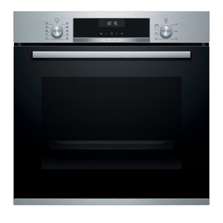 Bosch Oven HBT517CS0S 71 L, A, Built-in, Regular, Mechanical, Height 59.5 cm, Width 59.4 cm, Stainless steel 4242005057436 Cepeškrāsns