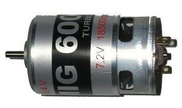 MIG 600 TURBO 7,2V engine GPX/96501