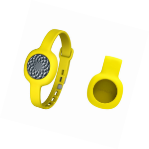 Jawbone UP Move + Strap srose slate rose / yellow Viedais pulkstenis, smartwatch