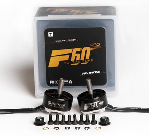 Two brushless motors set T-MOTOR F60PRO 2200kV TM/F60PRO-2200-2PCS