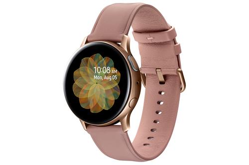 Galaxy Watch Active 2 Stainless Steel 40mm Rose Gold Viedais pulkstenis, smartwatch