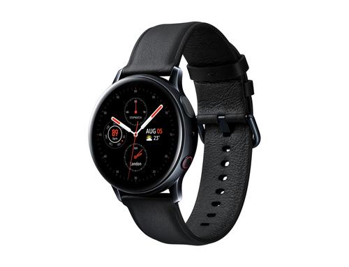 Samsung Galaxy Watch Active2 Stainless Steel 40mm LTE Black Viedais pulkstenis, smartwatch