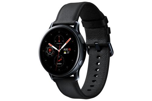 Galaxy Watch Active 2 Stainless Steel 40mm Black Viedais pulkstenis, smartwatch