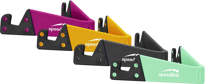 Speedlink planšetdatora un telefona turētājs Cavity Fold (SL-700200-MTCL-01) Mobilo telefonu turētāji