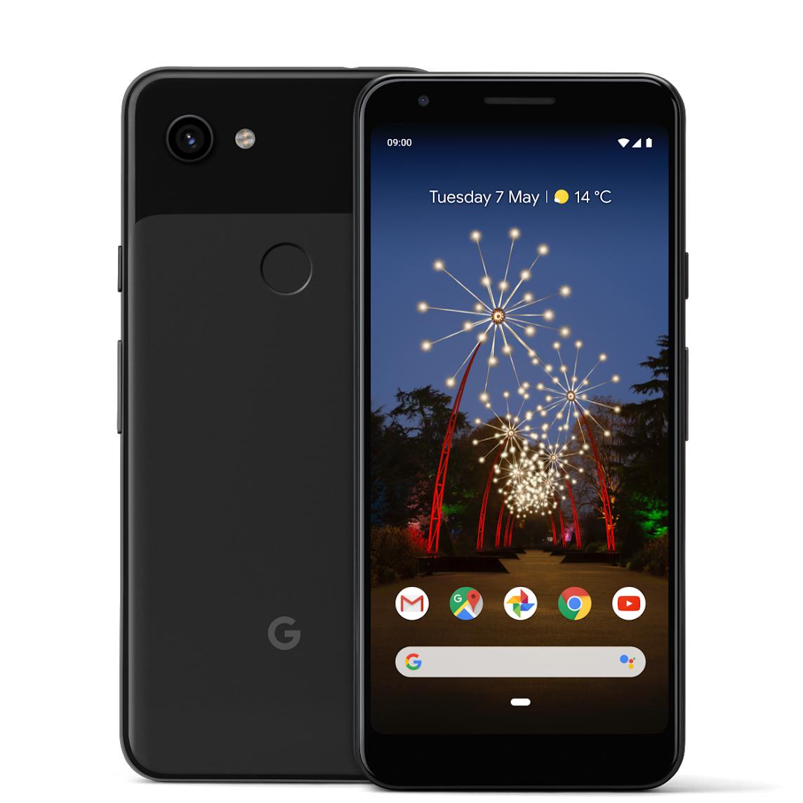 Google Pixel 3a Black Mobilais Telefons