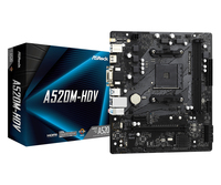 ASRock A520M-HDV - Motherboard - micro ATX - Socket AM4 - AMD A520 4710483932267 pamatplate, mātesplate