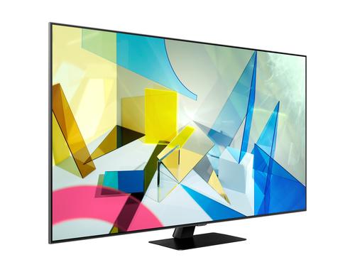 "SAMSUNG QE55Q80TATXXH 4K/Smart 55"" QLED 3840x2160 Wireless LAN Bluetooth Tizen (atvērts iepakojums) LED Televizors"