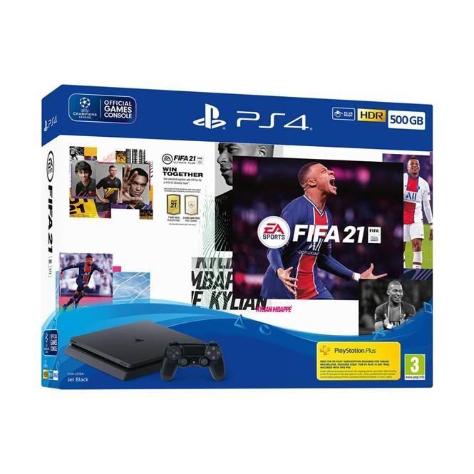 Sony Playstation 4 Slim 500GB FIFA21 spēļu konsole